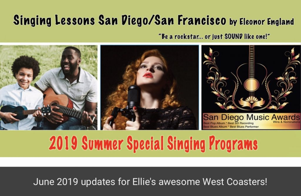 Singing Lessons NYC Summer Newsletter